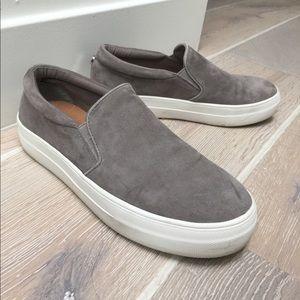 Steve Madden Grey Suede Shoes
